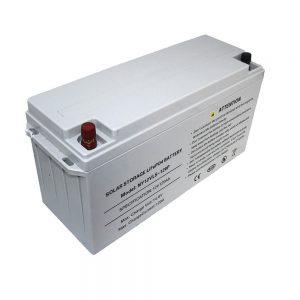 Energyਰਜਾ ਸਟੋਰੇਜ LiFePO4 ਬੈਟਰੀ 12V 80Ah ਸੋਲਰ ਬੈਟਰੀ ਬਿਜਲੀ ਸਪਲਾਈ ਲਈ