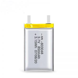 ਲਿਪੋ ਰੀਚਾਰਜਬਲ ਬੈਟਰੀ 603048 3.7V 850mAh / 3.7V 1700mAH / 7.4V 850mAH